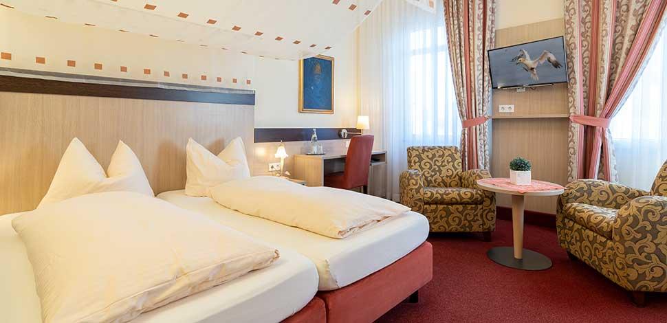 Doppelzimmer Hotel Wuppertaler Hof
