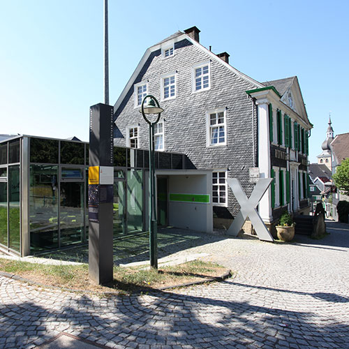 Röntgenmuseum Außenansicht